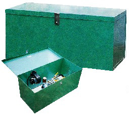 Lockable Compressor Enclosure